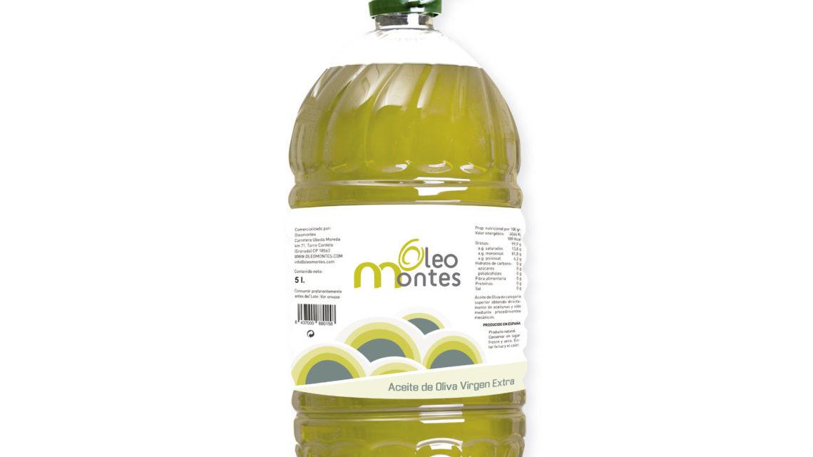 Garrafa aceite oliva virgen extra 5L