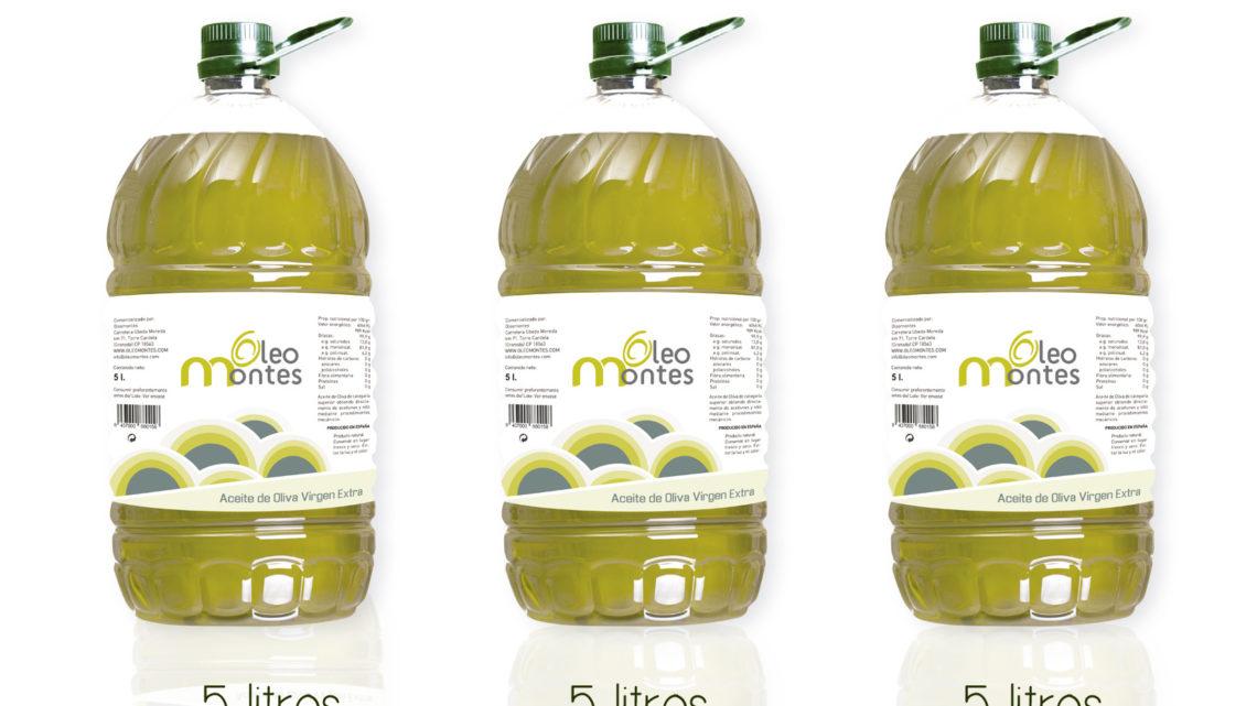 3 Garrafas aceite oliva virgen extra 5L
